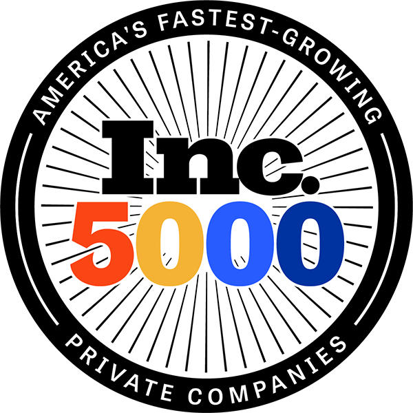 Inc 5000 - Fastest Growing Private Companies 2020